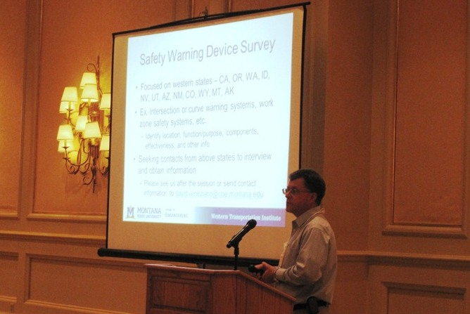 Doug Galarus discusses the WSRTC as he presents at the 2012 NRITS Conference.