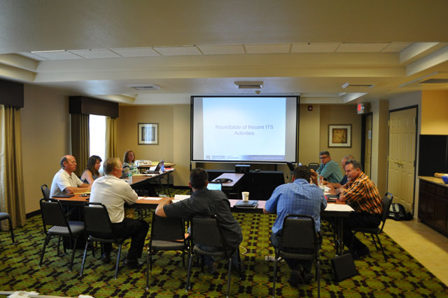 The Western States Rural Transportation Consortium (WSRTC) Steering Committee's annual meeting on June 16th, 2015.