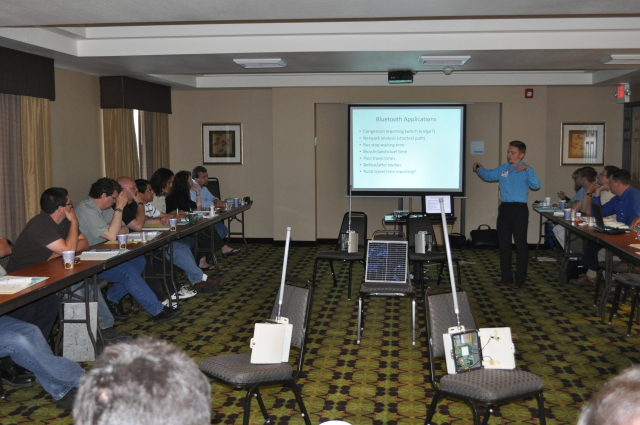 Yegor Malinovskiy presenting at the 2010 Western States Forum.