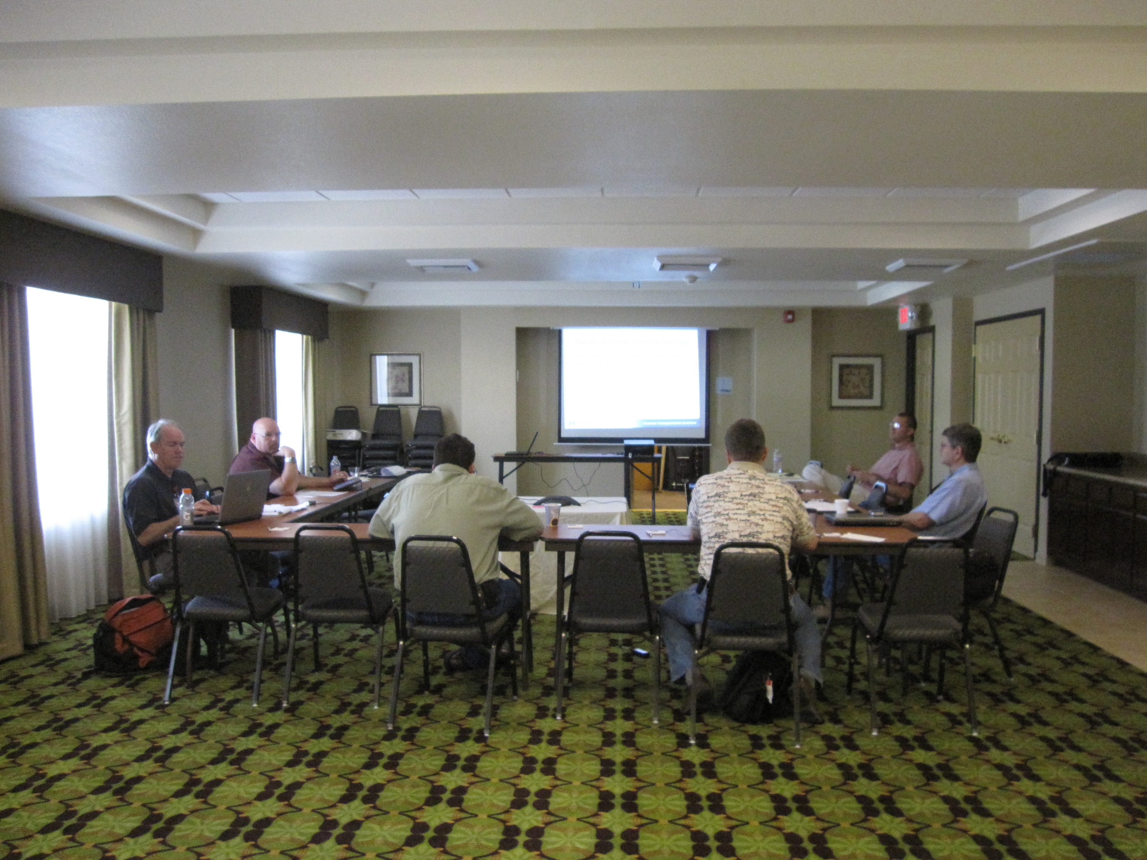 June 12, 2012, Western States Rural Transportation Consortium Steering Committee meeting, Yreka, California.