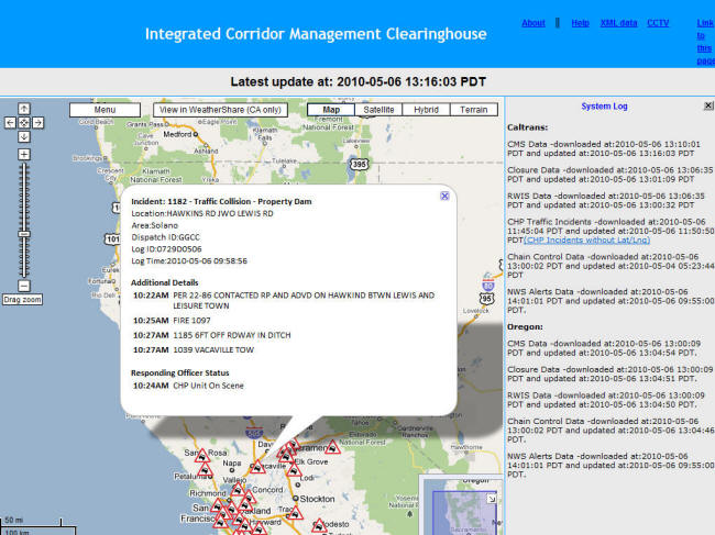 Chp incident reports by date in Perth